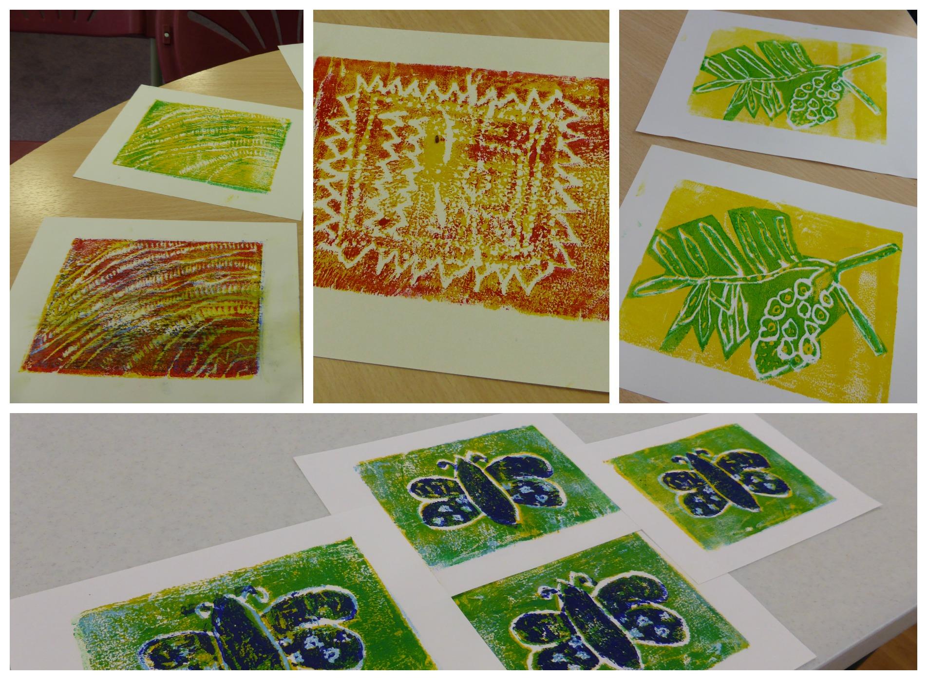 Broadwalk collage printing